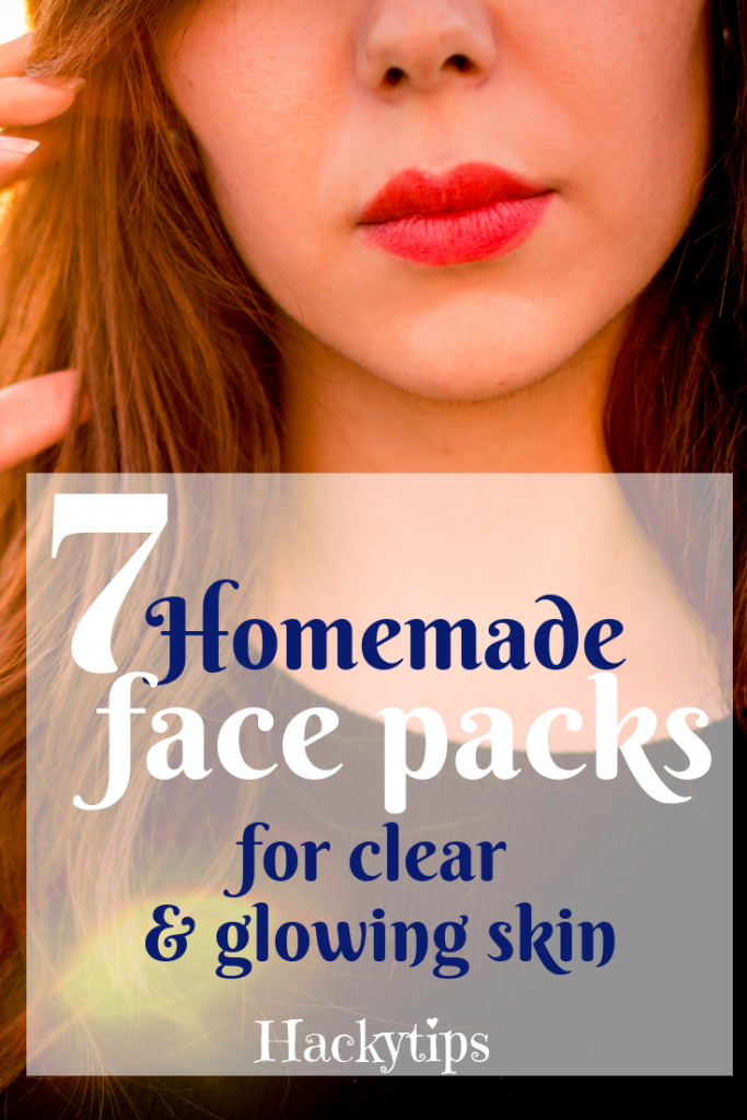 Homemade face packs