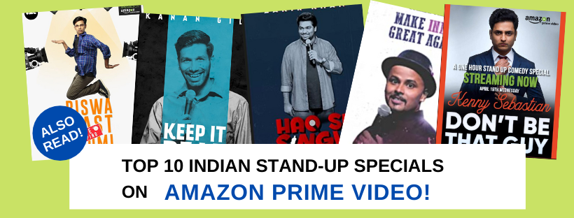 Top 10 Indian Stand up Specials