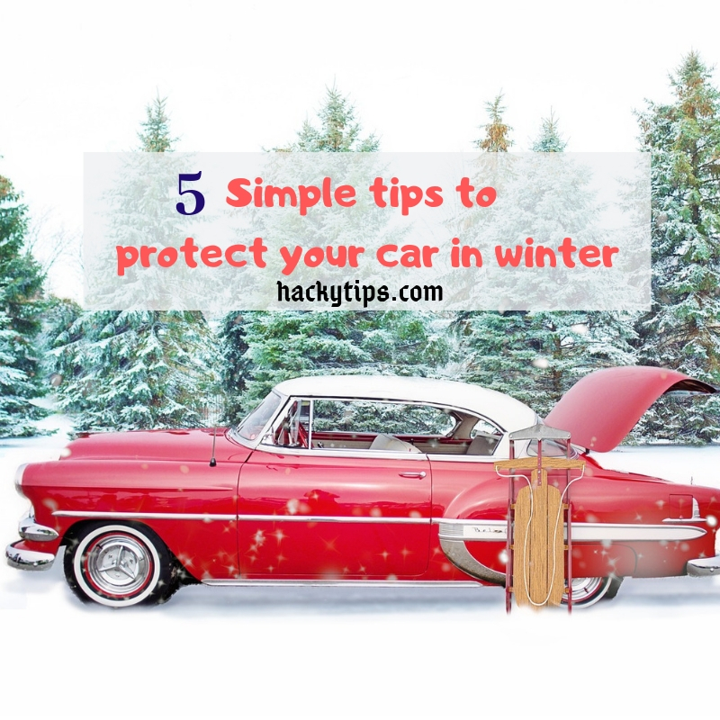 5 simple winter car protection tips