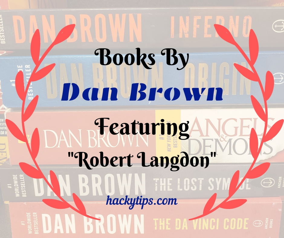 Robert Langdon Series of Books