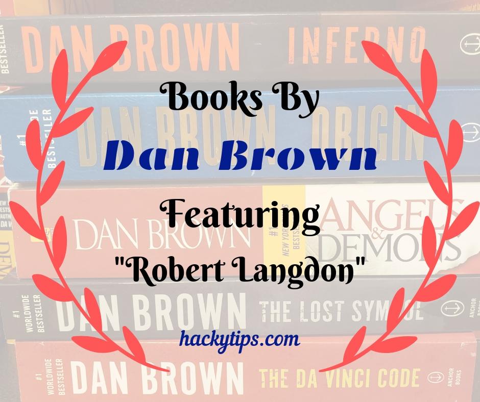 Robert Langdon Series of Books