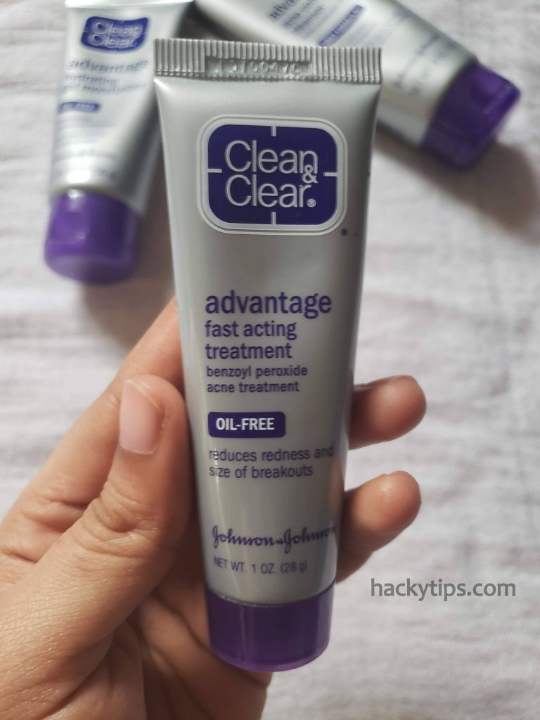 Clean and Clear Advantage Acne Control Kit