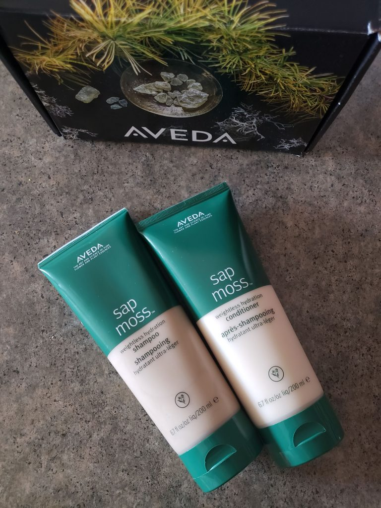 Aveda Sap Moss Shampoo and Conditioner
