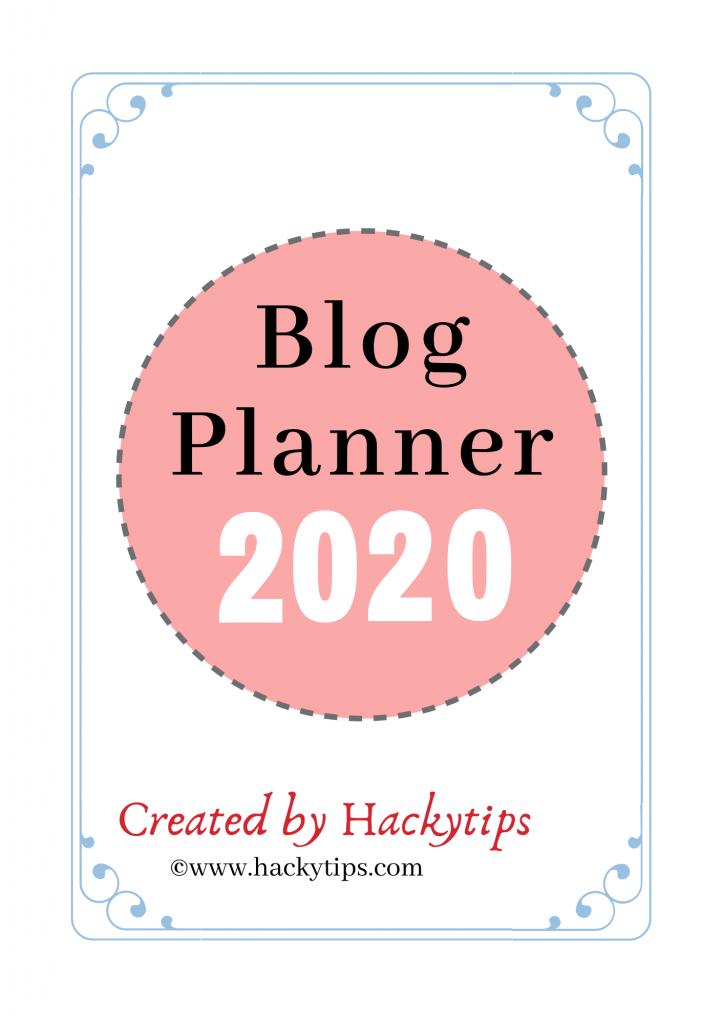 Download Free Blog Planner